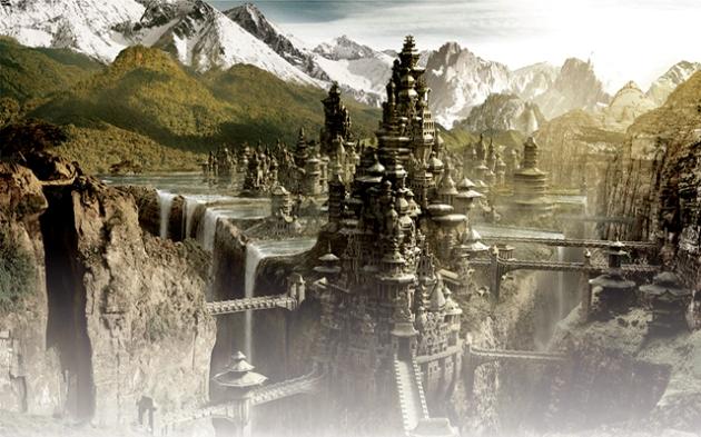 Capitala Lumii subpământene Agharta - foto tematic