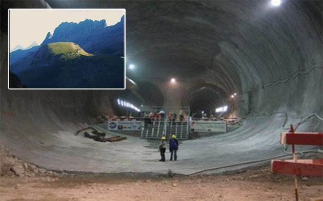 Baza subterană de la