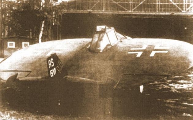 """Un avion ce avea să sperie piloții """"aliații"""" în cel de-al Doilea Război Mondial"""
