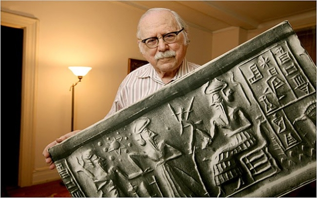 Zecharia Sitchin, omul care și-a închinat toată viața cercetării tăblițelor sumeriene