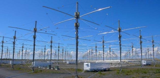 Cel mai cunoscut sistem de antene din clasa HAARP