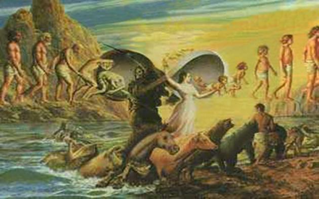 Evoluția speciilor - Reîncarnarea sufletelor