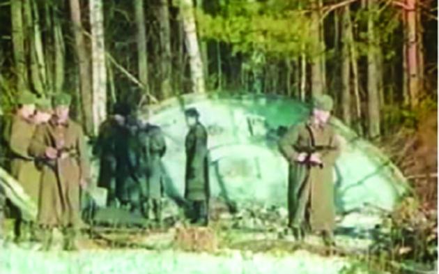 OZN-ul doborât de antiaeriana rusească în 1987, în timpul unor aplicații militare