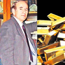 Profesorul Gheorghe Popescu de la Facultatea de Geologie Bucureşti, unul dintre cei mai cunoscuţi geologi români specializaţi pe zăcăminte de aur