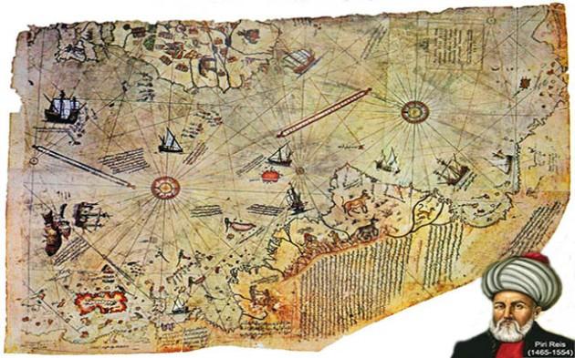 1.Piri Reis map