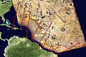 2.Piri Reis map