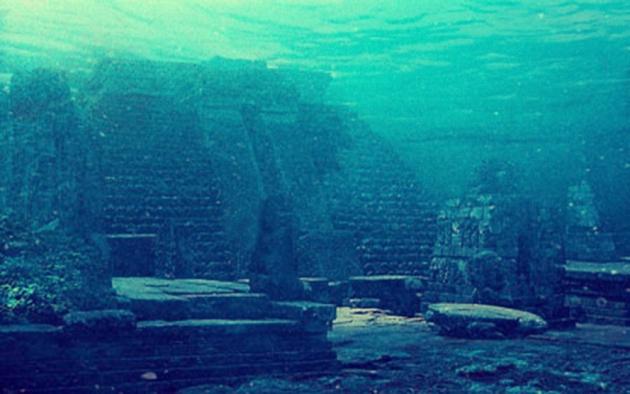 Construcţiile gigantice de pe fundul mărilor și oceanelor
