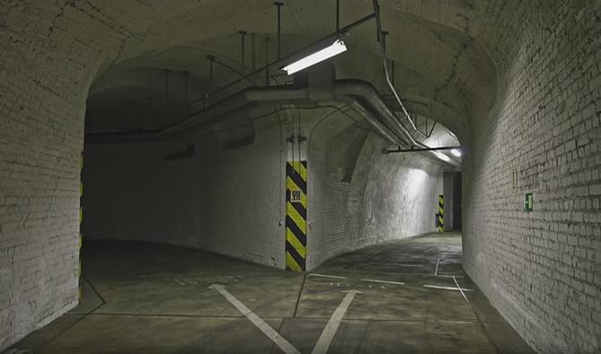 Buc 08 - Bifurcatie tunele Casa Poporului