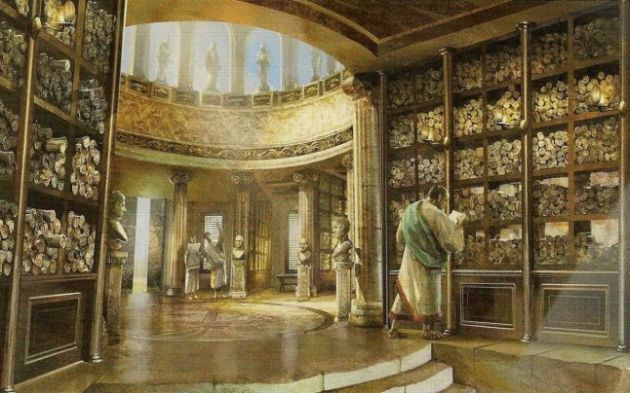Foto 04 - Biblioteca din Alexandria